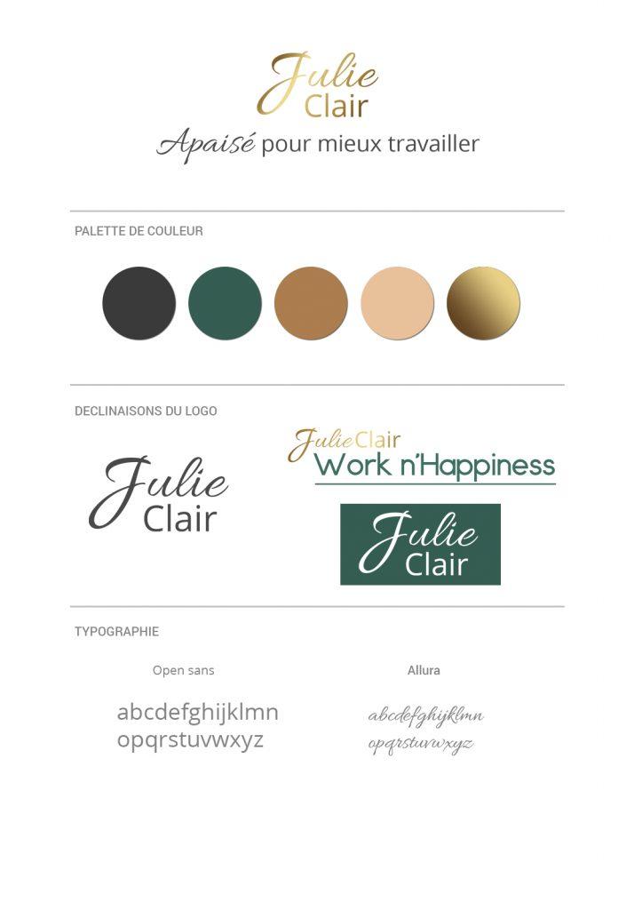 Brand board Julie Clair