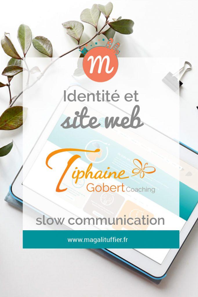 Identité et site web : Tiphaine Gobert