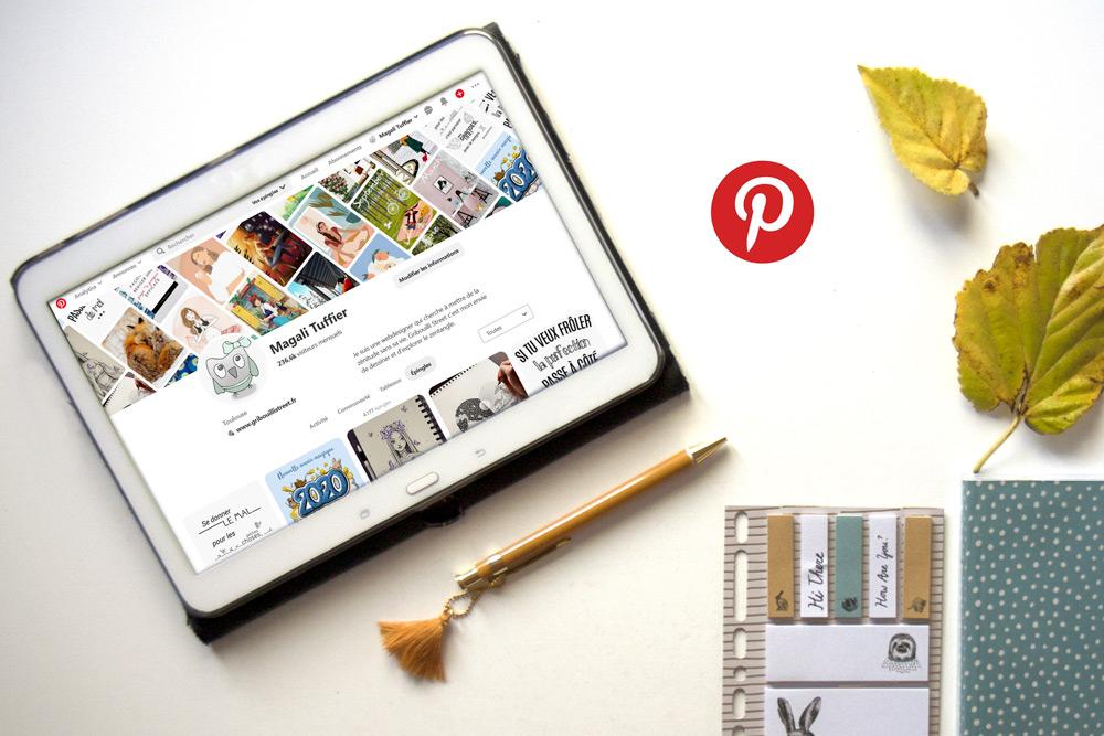 Avoir une stratégie Pinterest