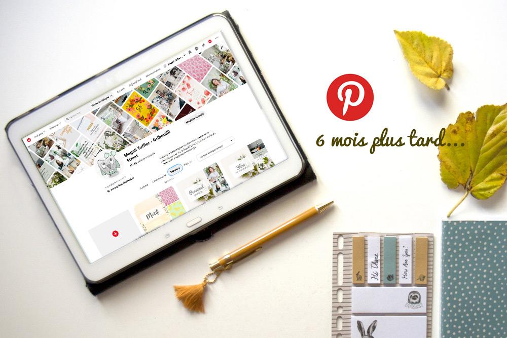 Avoir une stratégie Pinterest… 6 mois plus tard